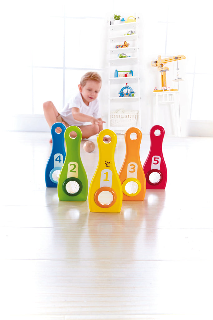 Hape Rainbow Bowl perfect for little minds and hand, educational and high quality wooden toys The Toy Wagon