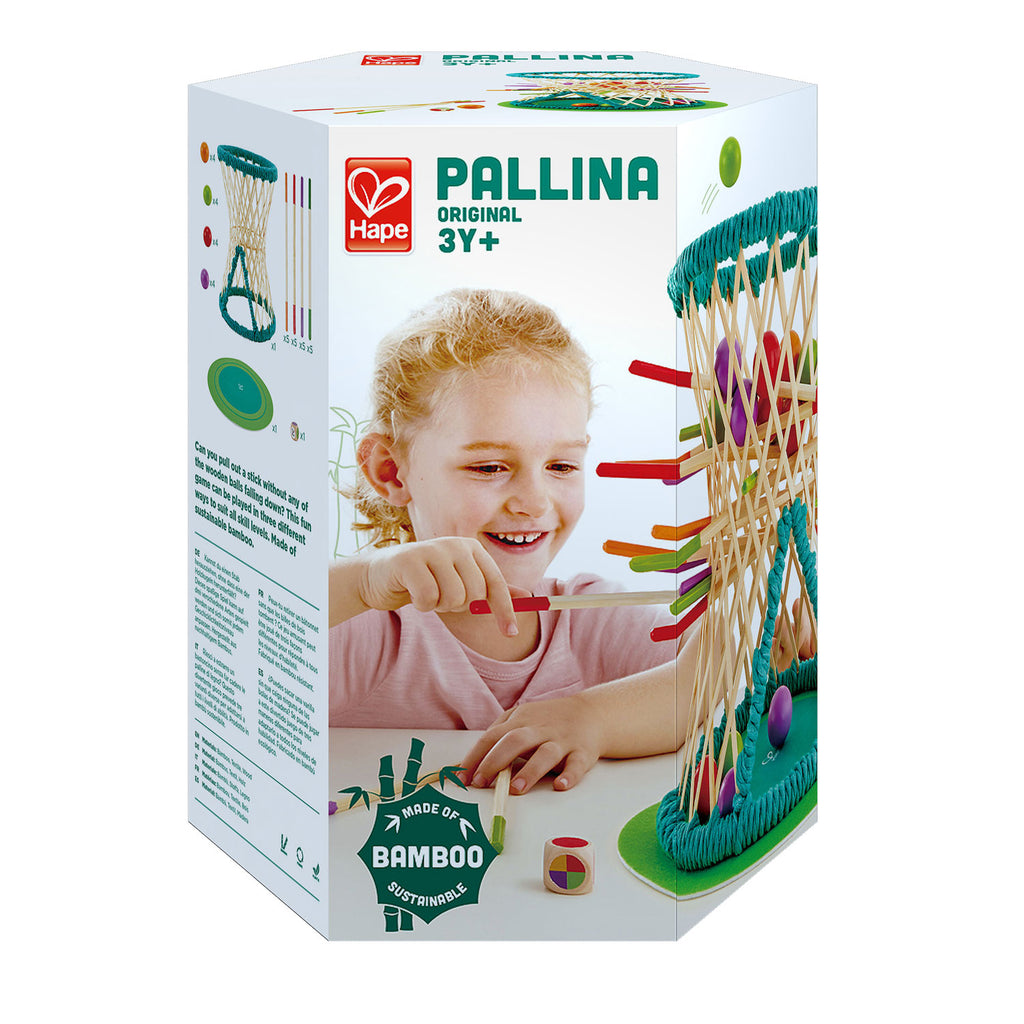 Hape Pallina Original perfect for little minds and hand, educational and high quality wooden toys The Toy Wagon