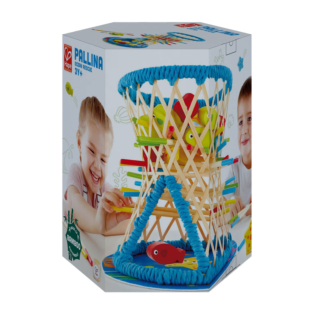 Hape Pallina Ocean Rescue perfect for little minds and hand, educational and high quality wooden toys The Toy Wagon