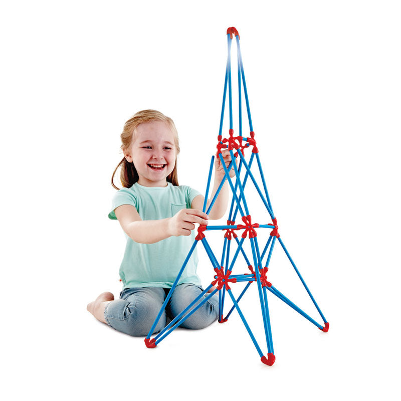 Hape Eiffel Tower perfect for little minds and hand, construction and educational high quality bamboo toys The Toy Wagon