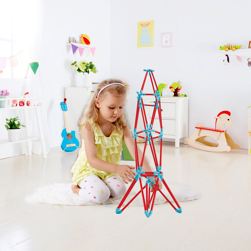 Hape Creativity Kit perfect for little minds and hand, construction and educational high quality bamboo toys The Toy Wagon