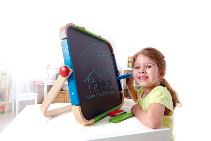 Hape Anywhere Art Studio arts, craft and creative play and educational wooden toys The Toy Wagon