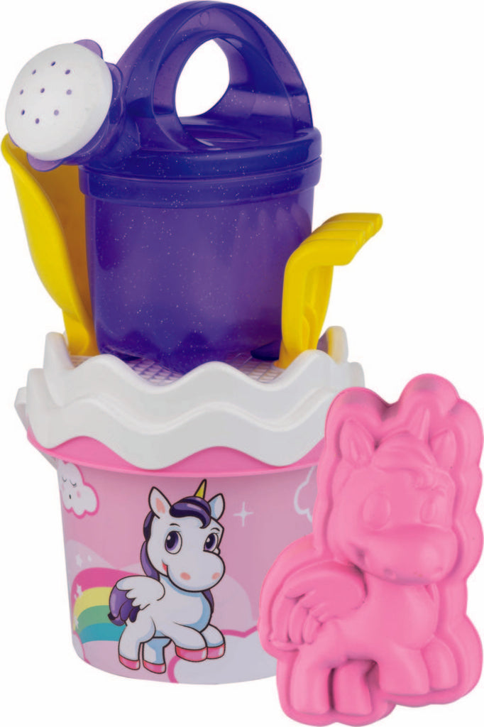 Unicorn Bucket Set 13cm