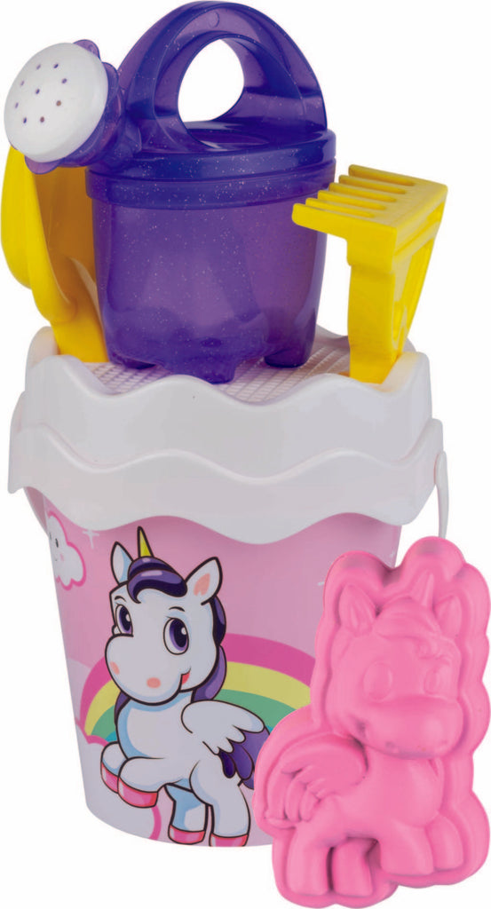 Unicorn Bucket Set 17cm