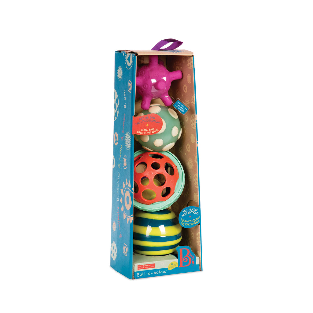 B. Ball-a-Baloos baby toys The Toy Wagon