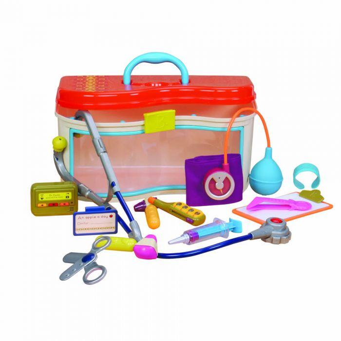 B. Dr Doctor is an amazing creative play toy for girls and boys.