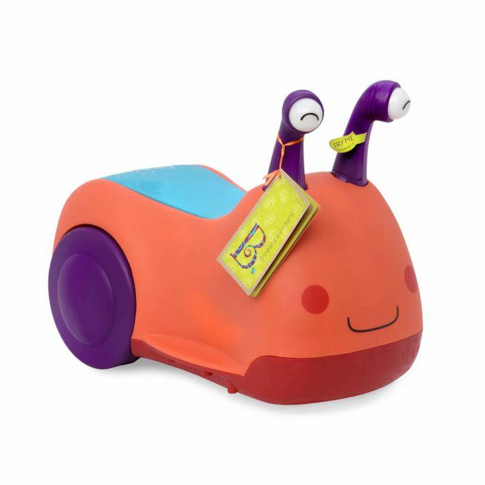 B. Buggly Wuggly is an amazing ride on to help kids learn the first step to riding a bike.