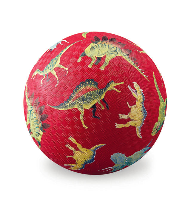 "Crocodile Creek 7"" Playground Ball Land of Dinosaurs quality outdoor toy The Toy Wagon"