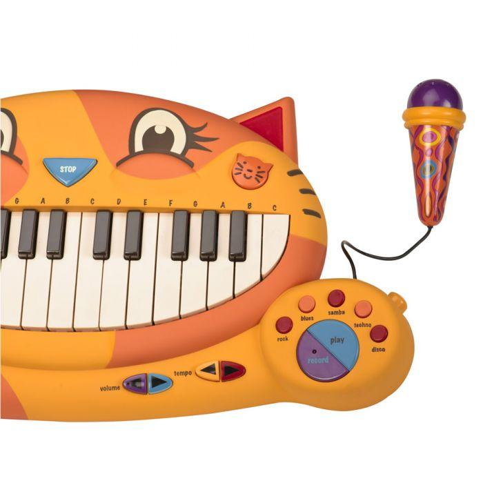 B. Meowsic is an amazing educational musical toy for girls and boys.