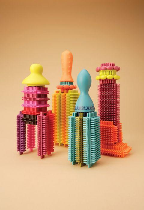 B. Bristle Block Stackadoos in Jar is an amazing learning construction toys for girls and boys.