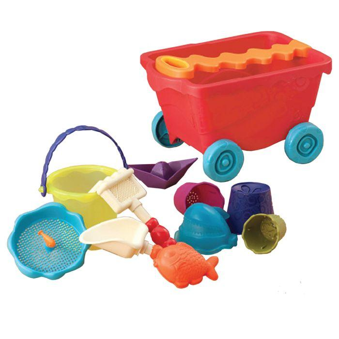 B. Wavey Wagon w/ Beach Toys V2 is an amazing beach toys for girls and boys.
