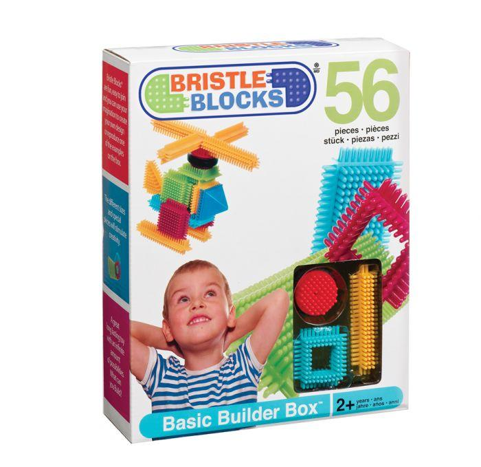 Bristle Blocks Basic Builder Box 56pc - The Toy Wagon