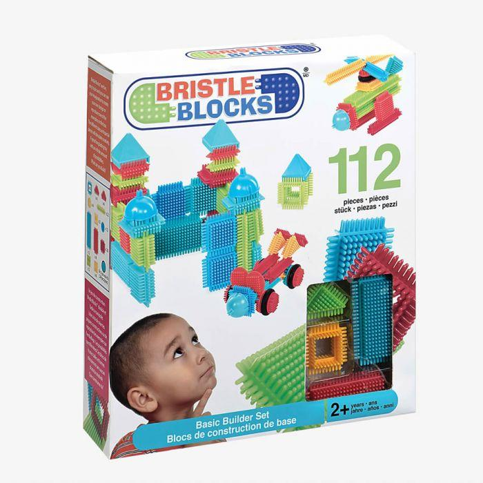 Bristle Block Basic Builder Box 112pc - The Toy Wagon