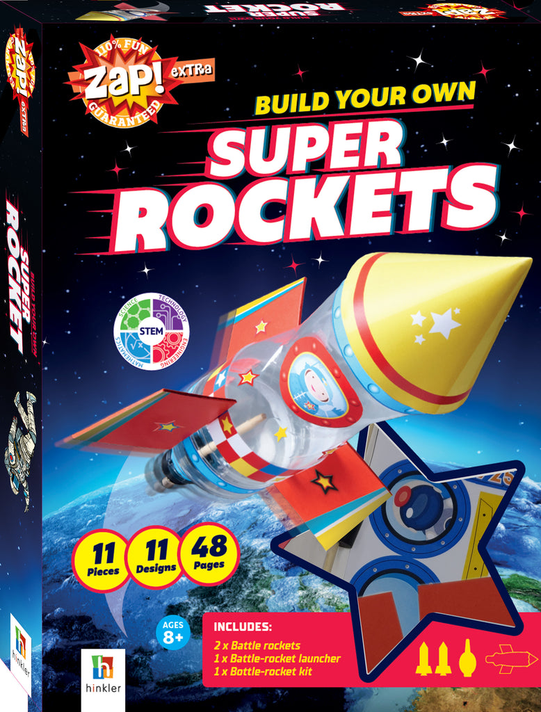 ZAP! Extra: Pocket Rockets sicence kit The Toy Wagon