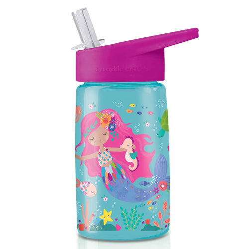 Crocodile Creek Tritan 450ml Drink Bottle Mermaids perfect for lunch boxes or on the go The Toy Wagon