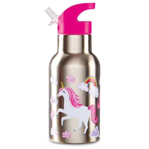 Crocodile Creek Stainless 400ml Drink Bottle Unicorn high quality to last for kids The Toy Wagon