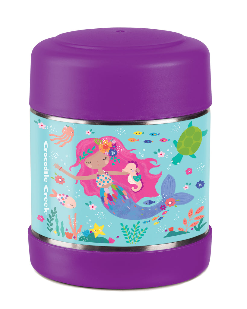 Crocodile Creek Insulated Food Jar Mermaid high quality to last for kids The Toy WagonCrocodile Creek Insulated Food Jar Mermaid high quality to last for kids The Toy Wagon
