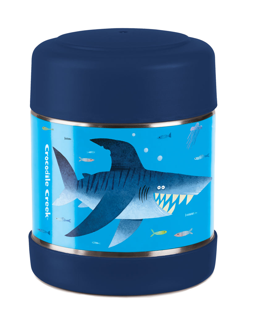 Crocodile Creek Insulated Food Jar Shark high quality to last for kids The Toy Wagon