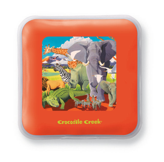 Crocodile Creek Ice Pack Set Safari - Set of 2 perfect for lunch boxes or on the go The Toy Wagon