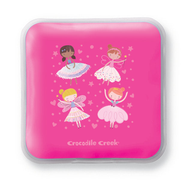 Crocodile Creek Ice Pack Set Dancers and Dreams - Set of 2 perfect for lunch boxes or on the go The Toy Wagon