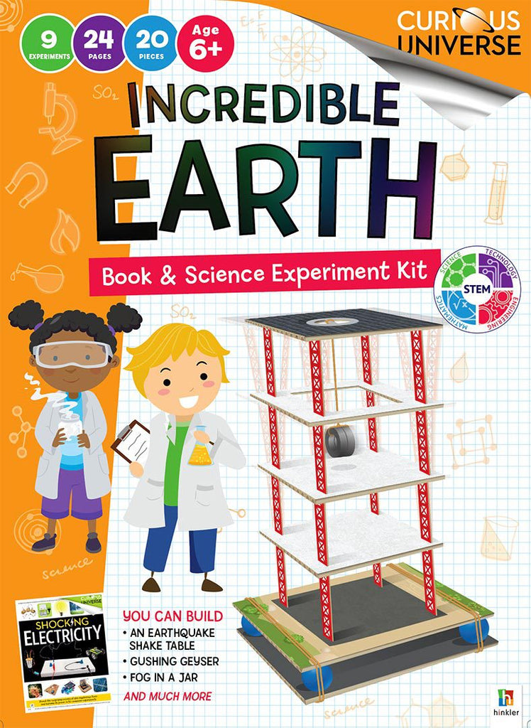 Curious Universe Kids: Incredible World Kit science STEAM kit for Kids The Toy Wagon