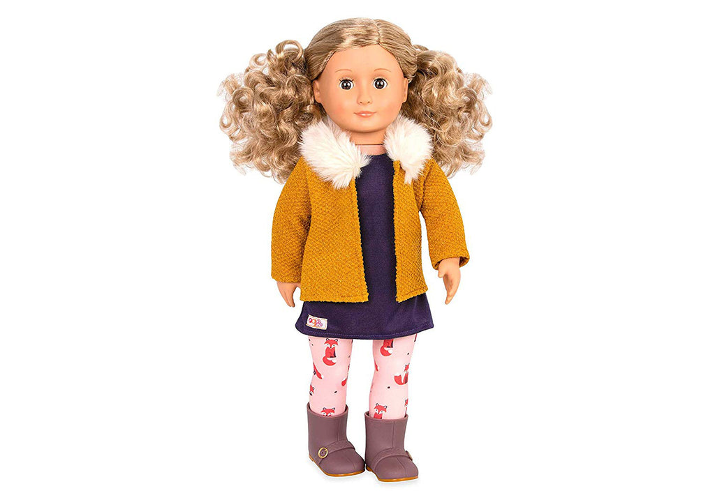"Our Generation 18"" Regular Doll - Florence - Fox Tights & Vest is an amazing doll accessory for creative play for young girls The Toy Wagon"