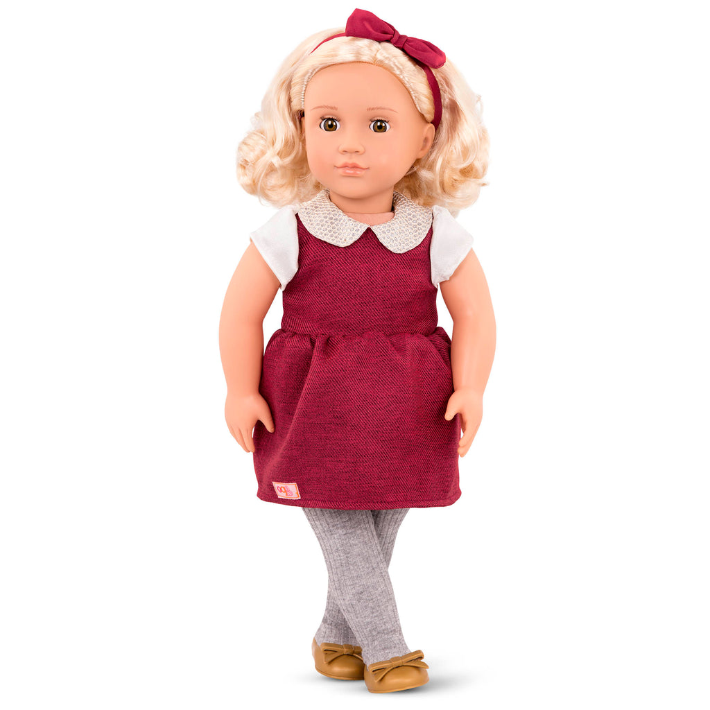 "Our Generation 18"" Regular Doll - Ivory is an amazing doll accessory for creative play for young girls The Toy Wagon"