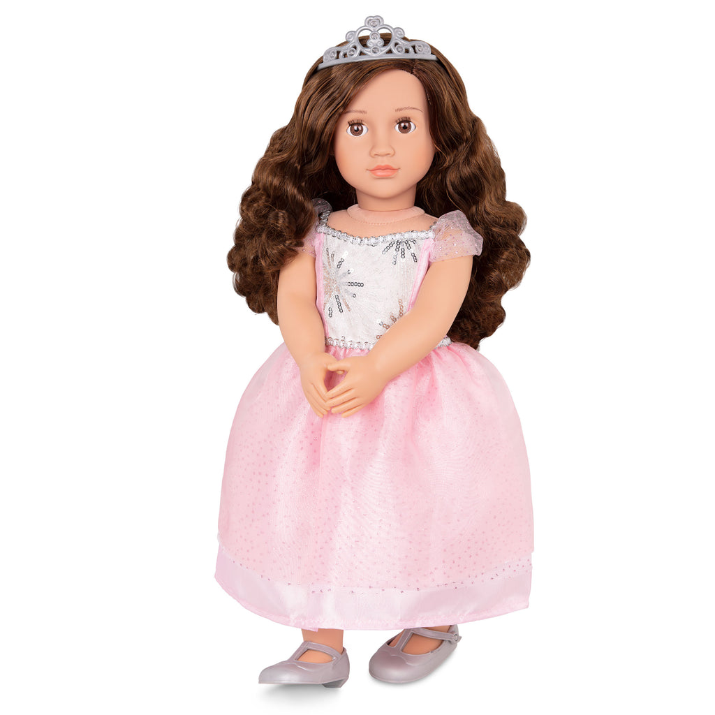"Our Generation 18"" Regular Doll - Amina is an amazing doll accessory for creative play for young girls The Toy Wagon"