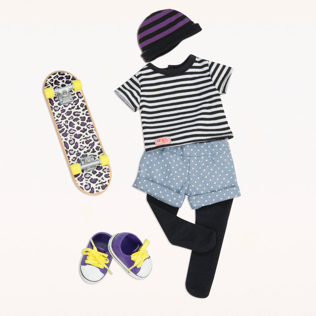 Our Generation Regular Outfit - Skater is an amazing doll accessory for creative play for young girls The Toy Wagon
