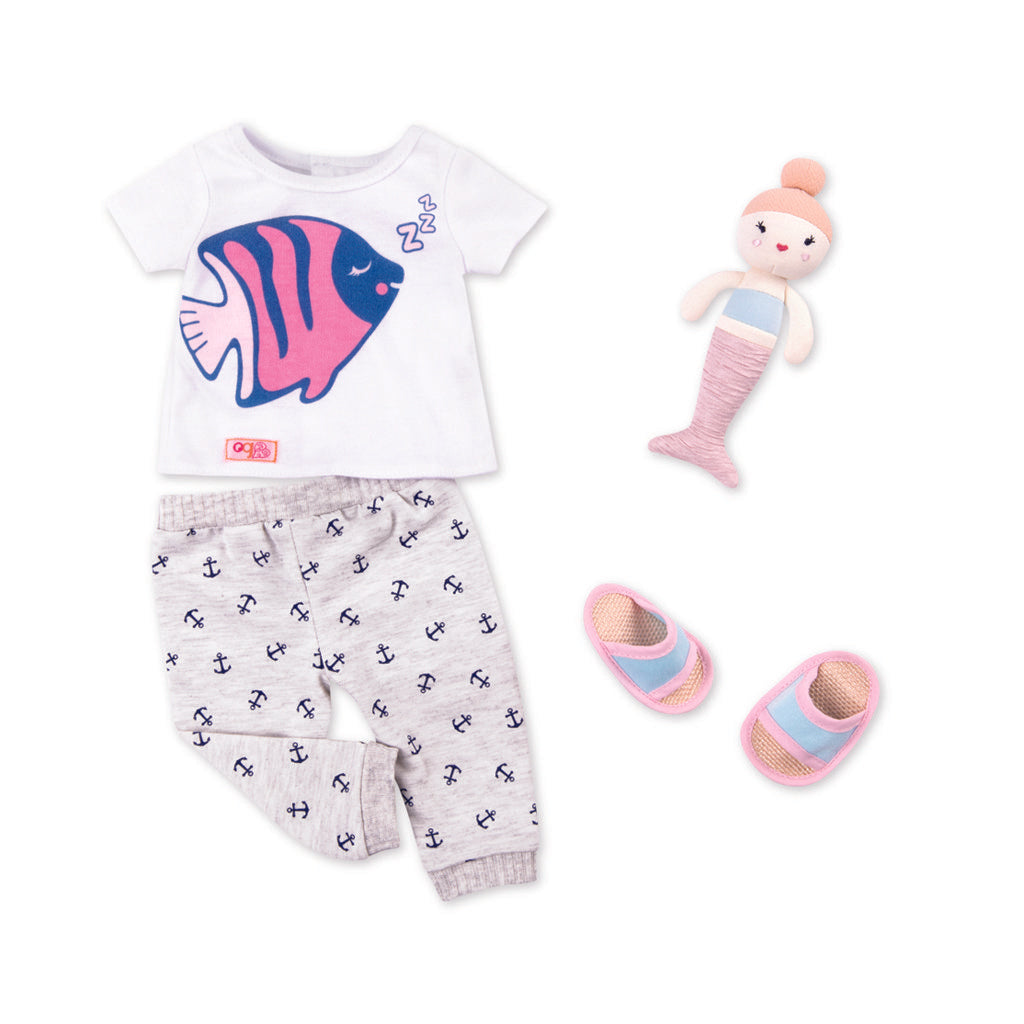 OG Regular Outfit - Nautical Pyjama - The Toy Wagon