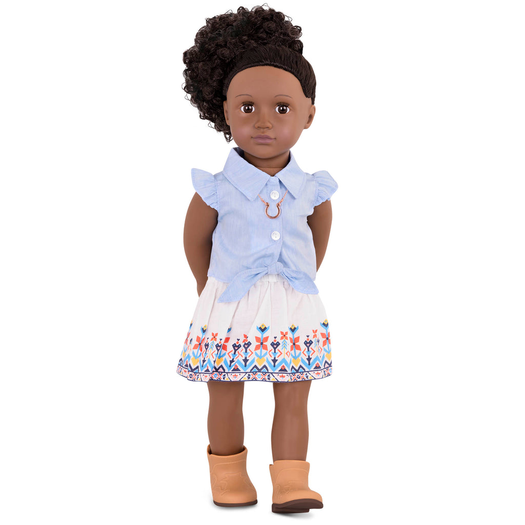 Our Generation Regular Outfit - My Lucky Horseshoe is an amazing doll accessory for creative play for young girls The Toy Wagon