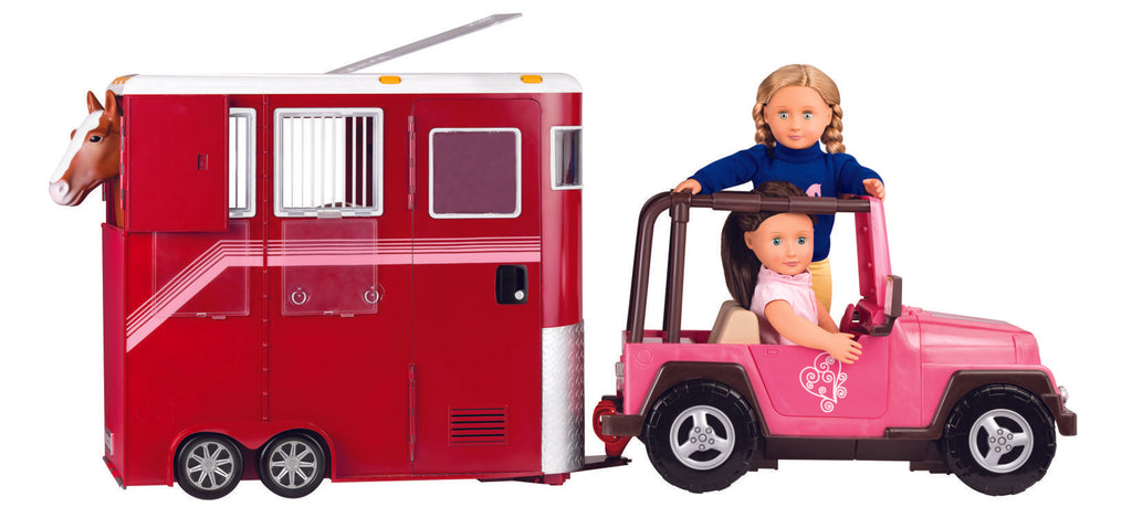 Our Generation Accessory - Horse Trailer - The Toy Wagon