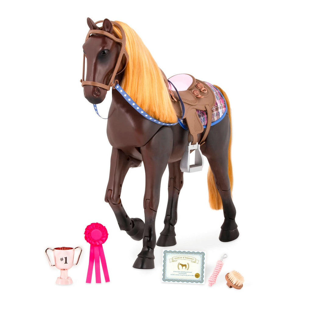 OG Horse Thoroughbred Posable - The Toy Wagon