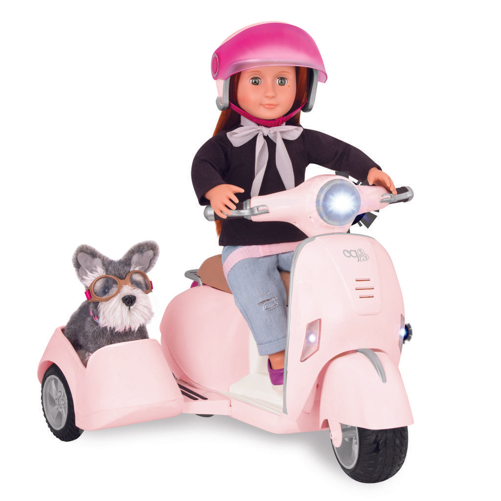 OG Accessory - Ride along Scooter with Side Car - The Toy Wagon
