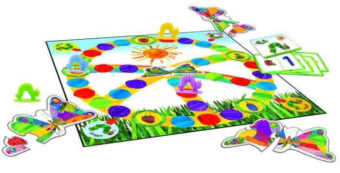 Eric Carle Let's Feed The Very Hungry Caterpillar Game a brand new kids board game based on Eric Carle's best-selling book.