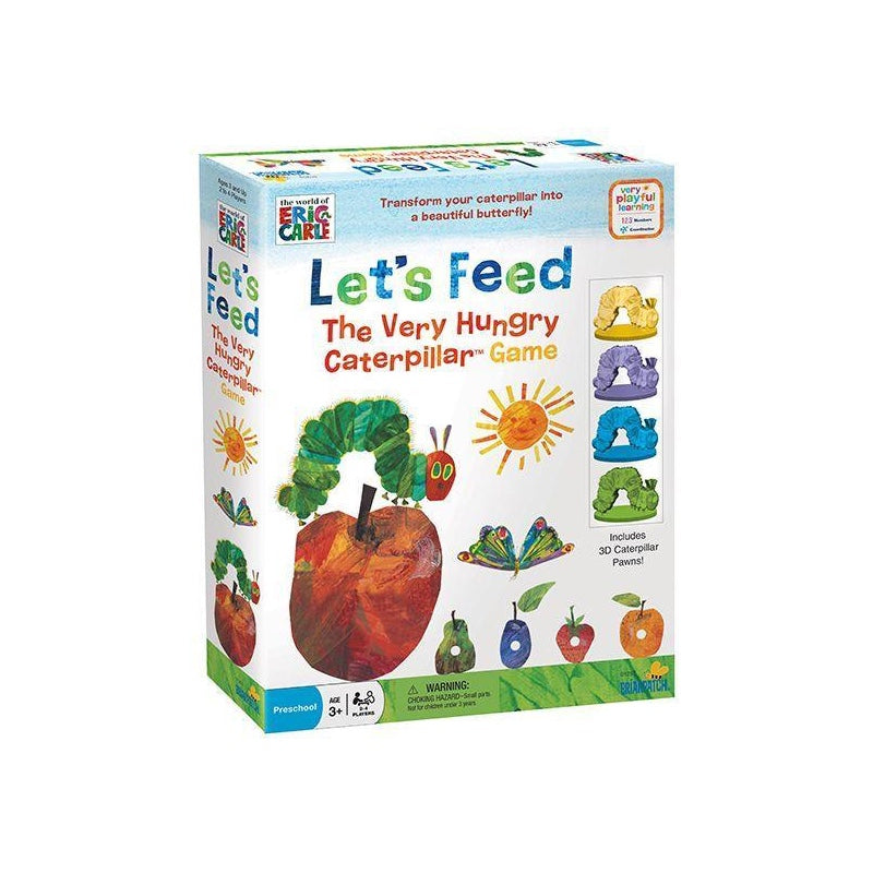 Eric Carle Let's Feed The Very Hungry Caterpillar Game - The Toy Wagon