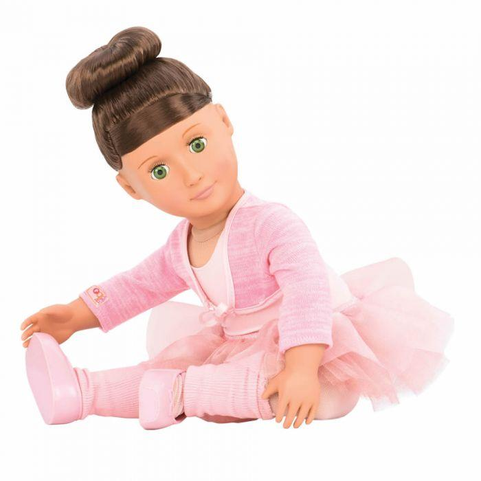 "Our Generation 18"" Deluxe Doll with Book - Sydney Lee is an amazing doll for creative play young girls"