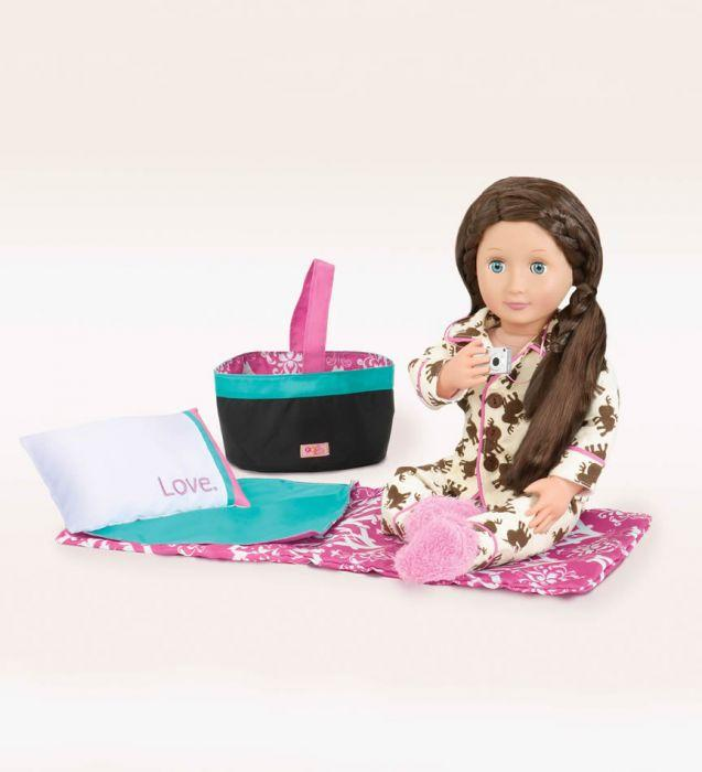 Our Generation Accessory Set - Sleepover Party is a great dolls accessory set for creative play young girls