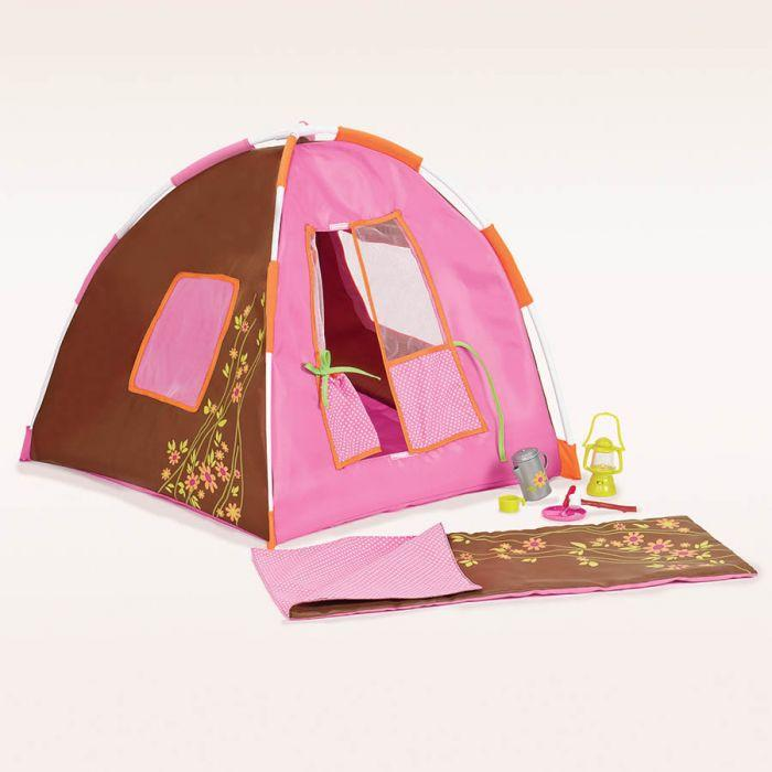 Our Generation Accessory Set - Polka Dot Camping is a great dolls accessory set for creative play young girls