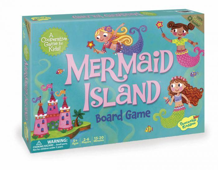Peaceable Kingdom Cooperative Game - Mermaid Island - The Toy Wagon