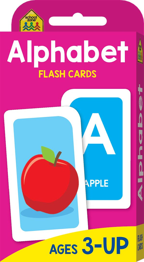 School Zone Flash Cards : Alphabet educational activity book for kids The Toy Wagon