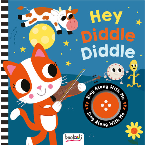 Sing Along With Me Sound Book Hey Diddle Diddle baby book The Toy Wagon