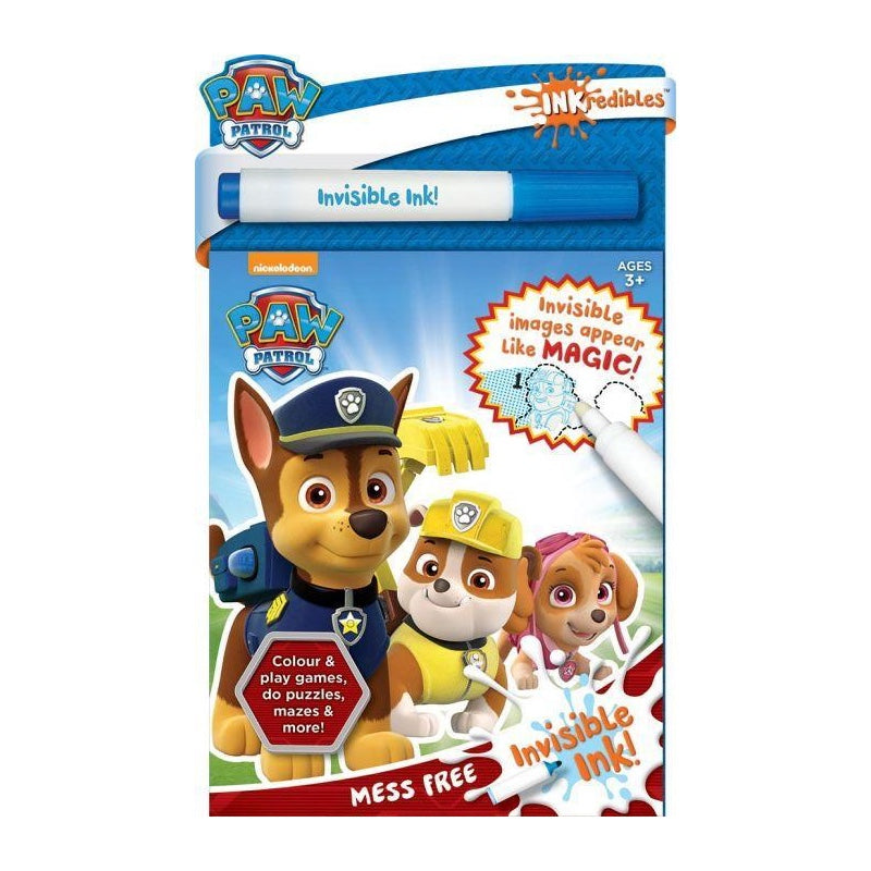 Inkredibles Invisible Ink PAW Patrol - The Toy Wagon