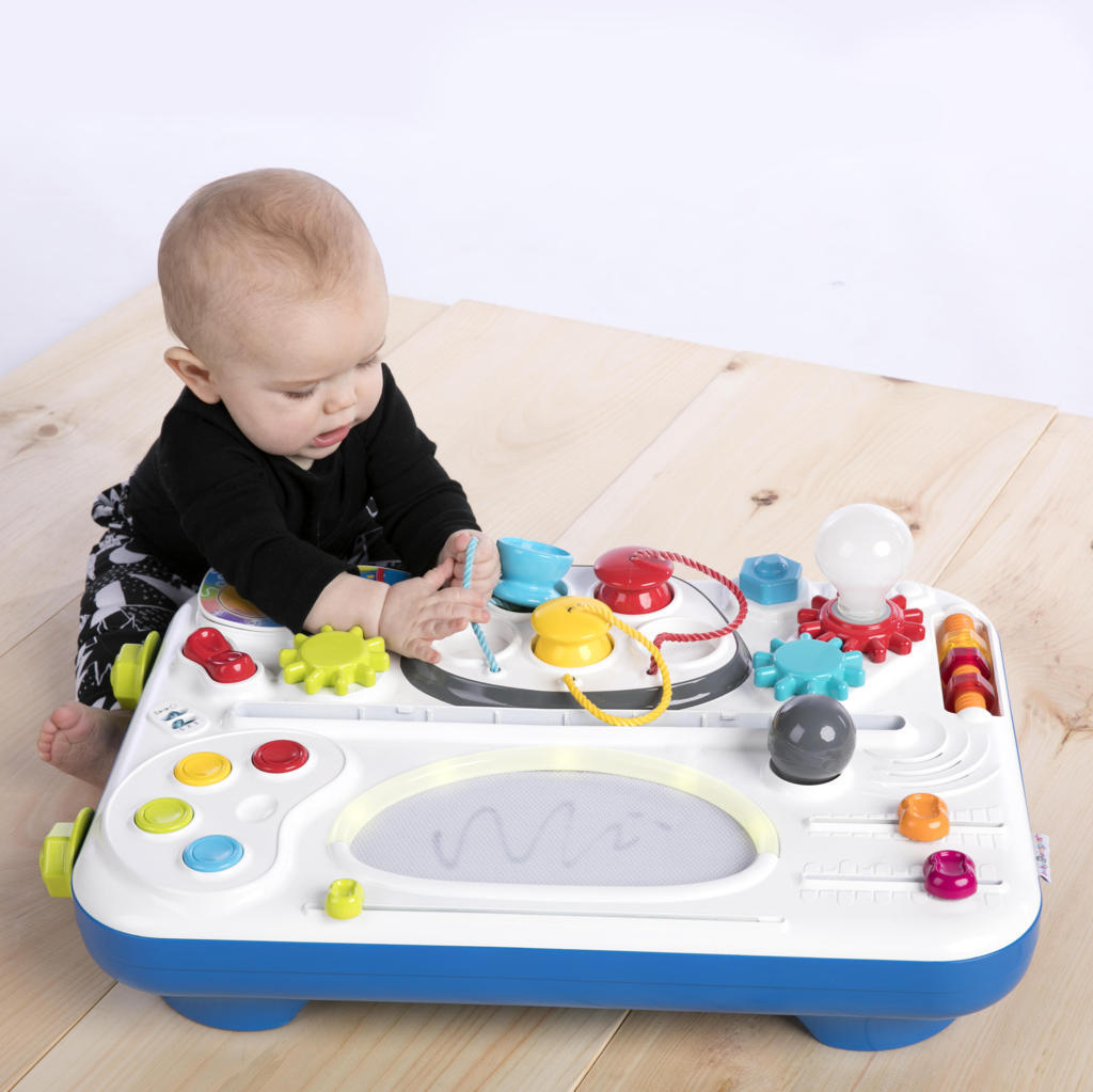 Baby Einstein Tinker Table full of lots of activiities for hours of play The Toy Wagon