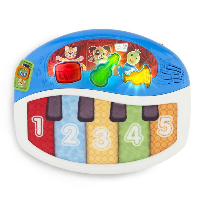 Baby Einstein Discover & Play Piano is the best infant toy to engage kids in 3 languages.