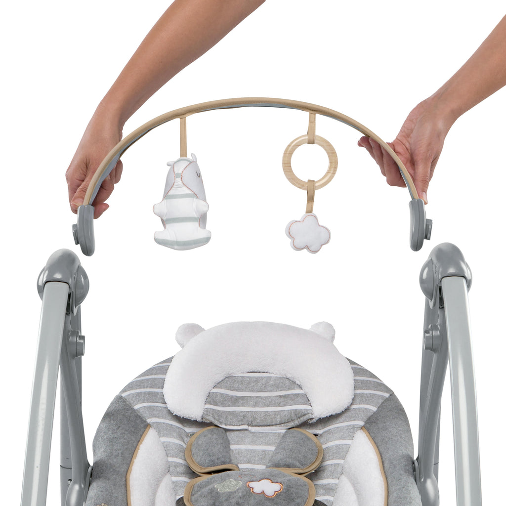 Ingenuity Boutique Collection Swing N Go Portable Swing