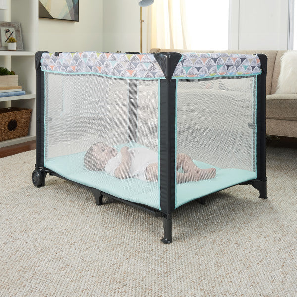 Ingenuity Smart and Simple Playard portable cot with changing mat The Toy Wagon