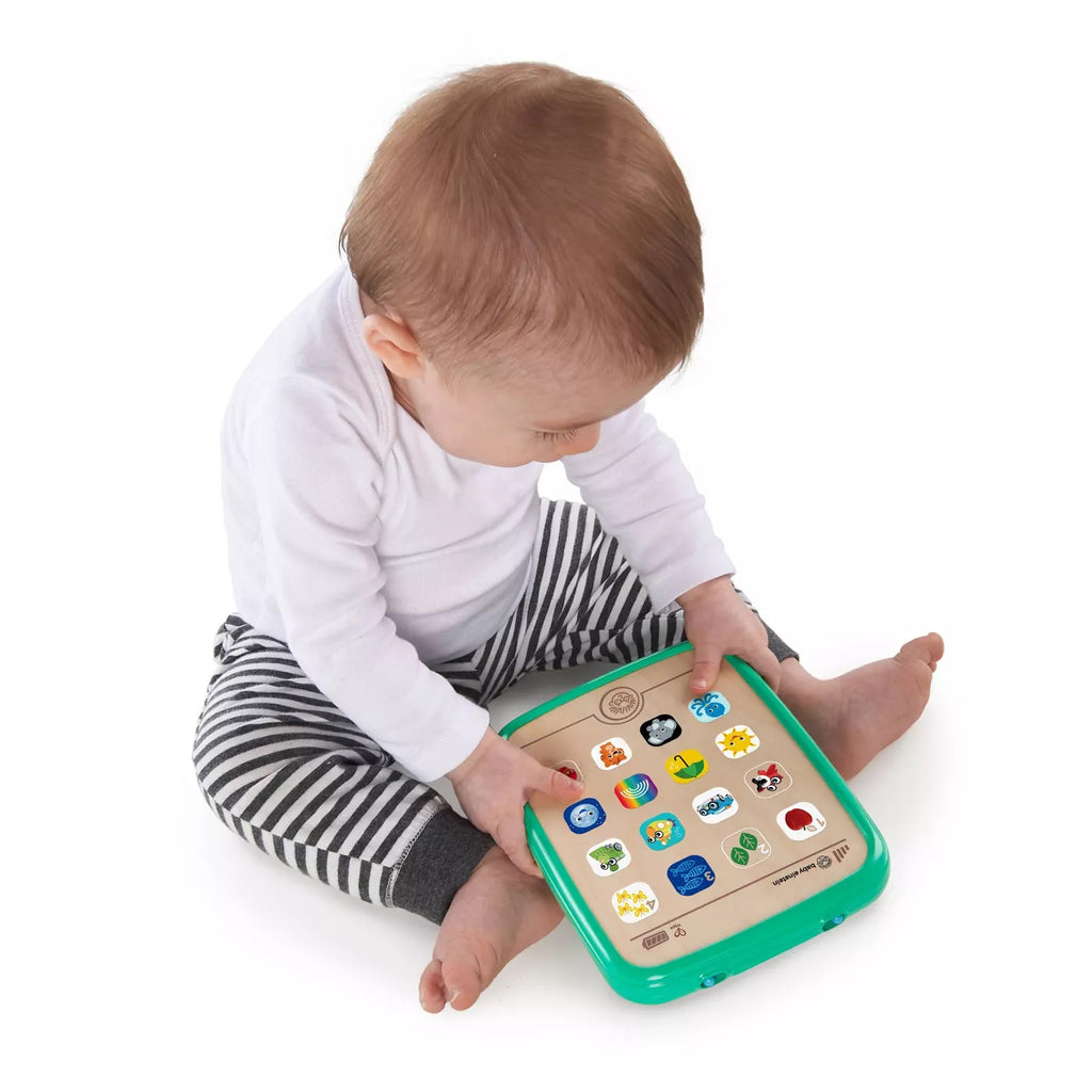 Baby Einstein Hape Magic Touch Curiosity Tablet educational wooden toy The Toy Wagon