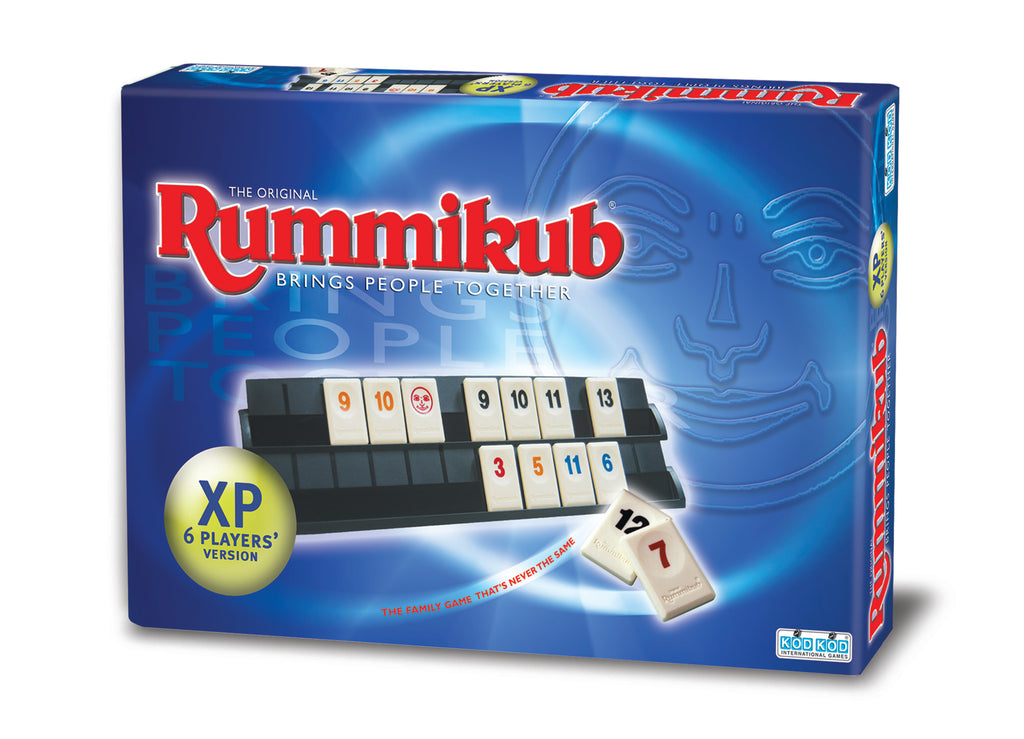 Rummikub XP is a 6 players version of Rummikub.