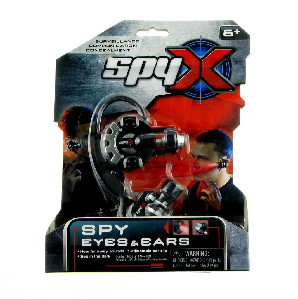 See in the dark & Hear far-away sounds! SpyX, the 'Jr. James Bond' line that has all of the gadgets needed to be a real life Spy Kid.